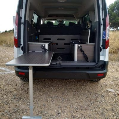 Ford Transit Connect Mesa Posterior