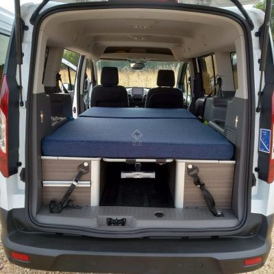 Ford Transit Connect cama abierta