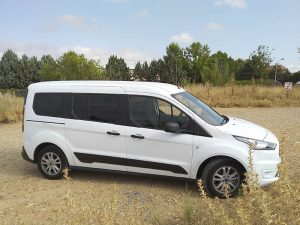 Ford Transit Connect camperizada